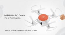 Gearbest: skvělý dron Xiaomi MITU jen nyní za pár korun! [sponzorovaný článek]