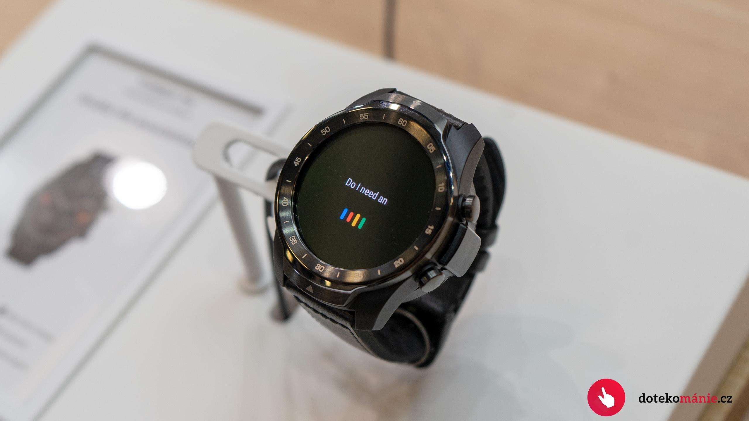 První pohled na TicWatch Pro – hodinky s dvěma displeji