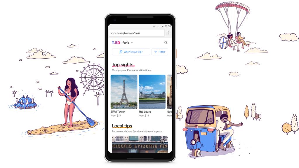 Touring Bird je nová aplikace pro cestování od Area 120