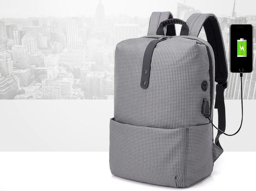 Luxusní batoh s prostorem pro nabíjení jen za 310 Kč [sponzorovaný článek]