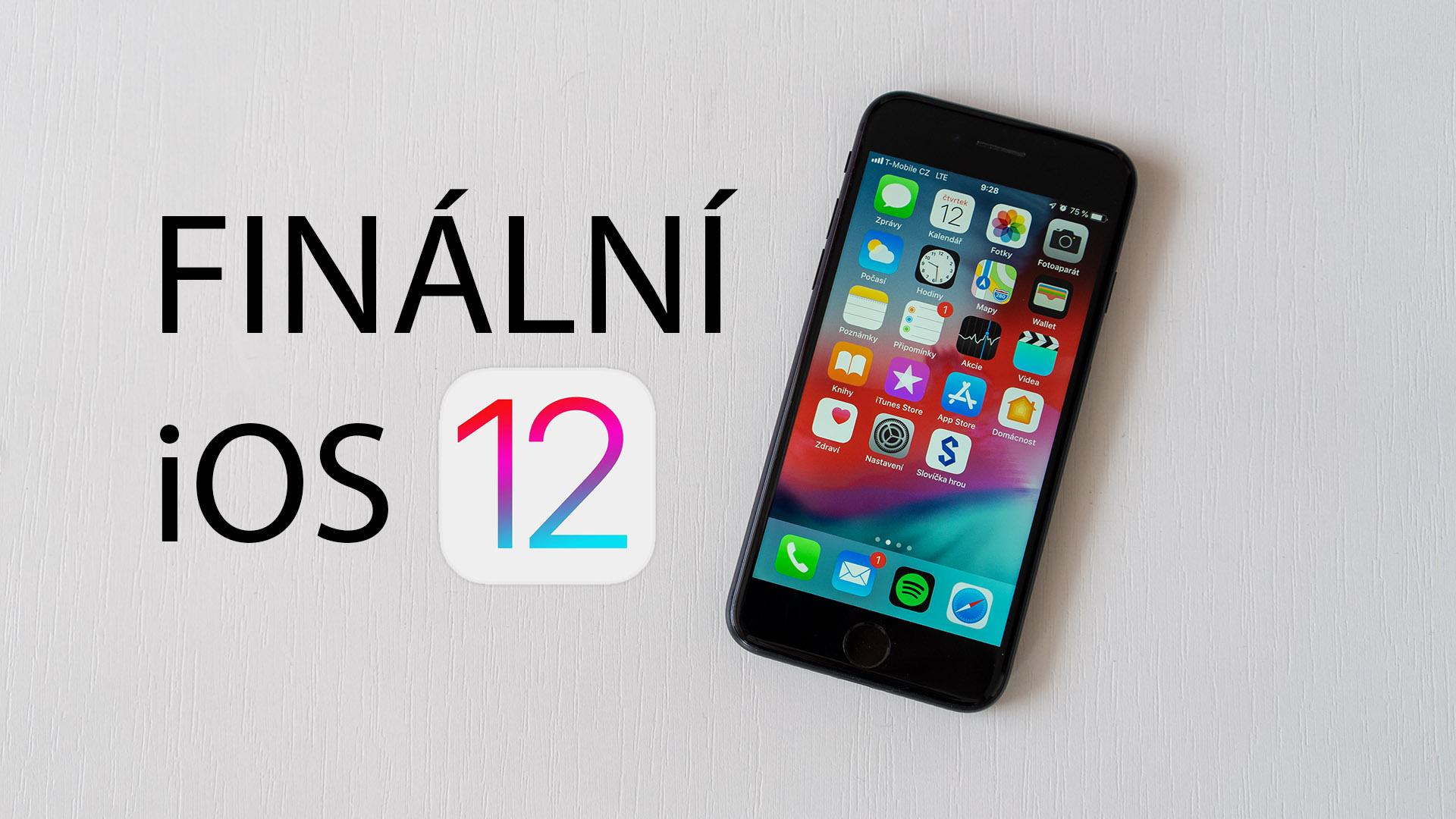 iOS 12 je nainstalováno na 70 % zařízení