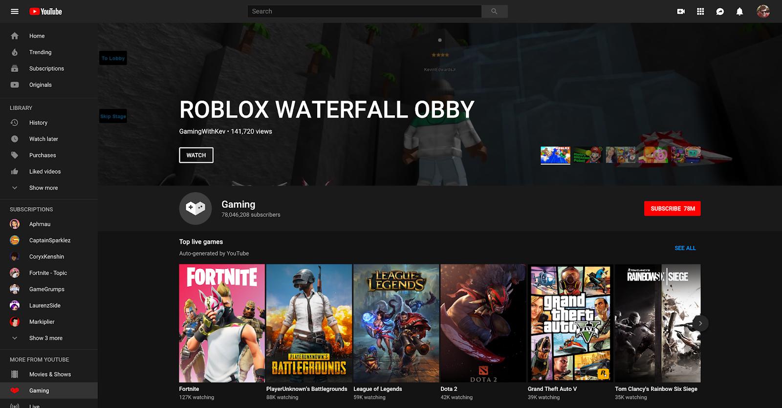 YouTube Gaming se přesouvá na domovskou stránku Youtube, samostatná aplikace zanikne