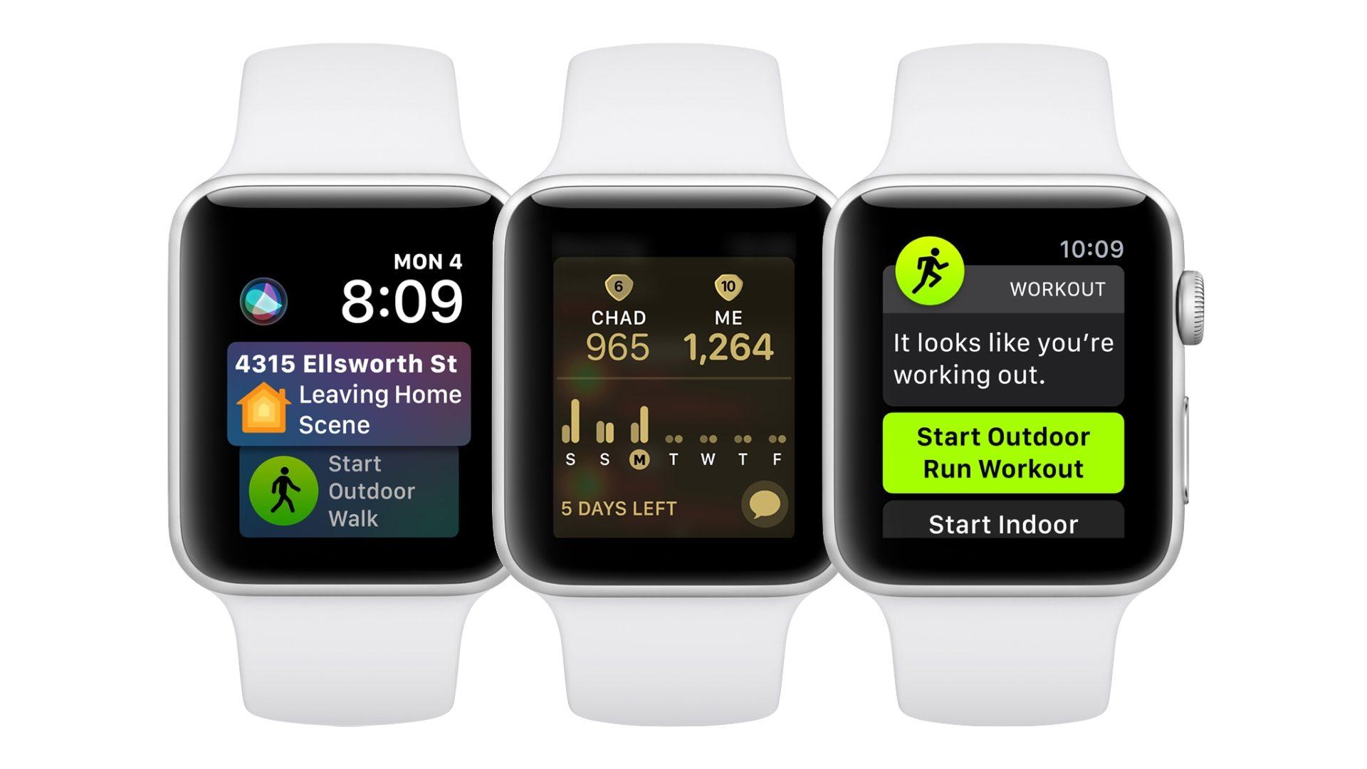 Apple zveřejnil watchOS 5.0.1, drobnou, leč potřebnou aktualizaci
