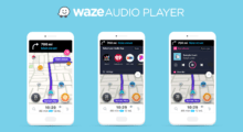 Waze Audio Player rozšiřuje podporu streamovací služby [aktualizováno]