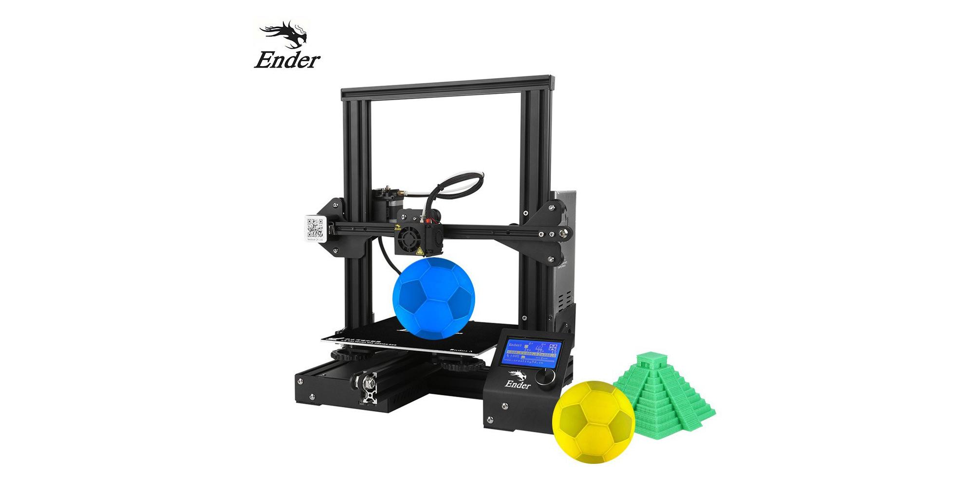 Skvělá 3D tiskárna Creality 3D nyní za nízkou cenu [sponzorovaný článek]