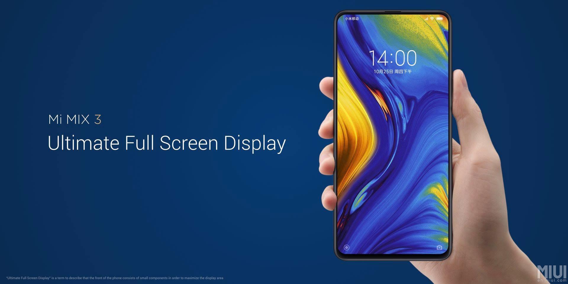Xiaomi Mi Mix 3 představen v 5G verzi [aktualizováno]
