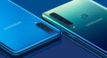 Samsung Galaxy A9 představen, 5 foťáků za 14 999 Kč