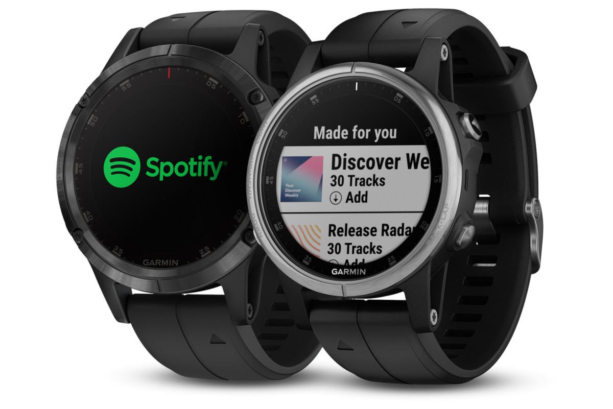 Garmin rozšiřuje dostupnost Spotify [aktualizováno]