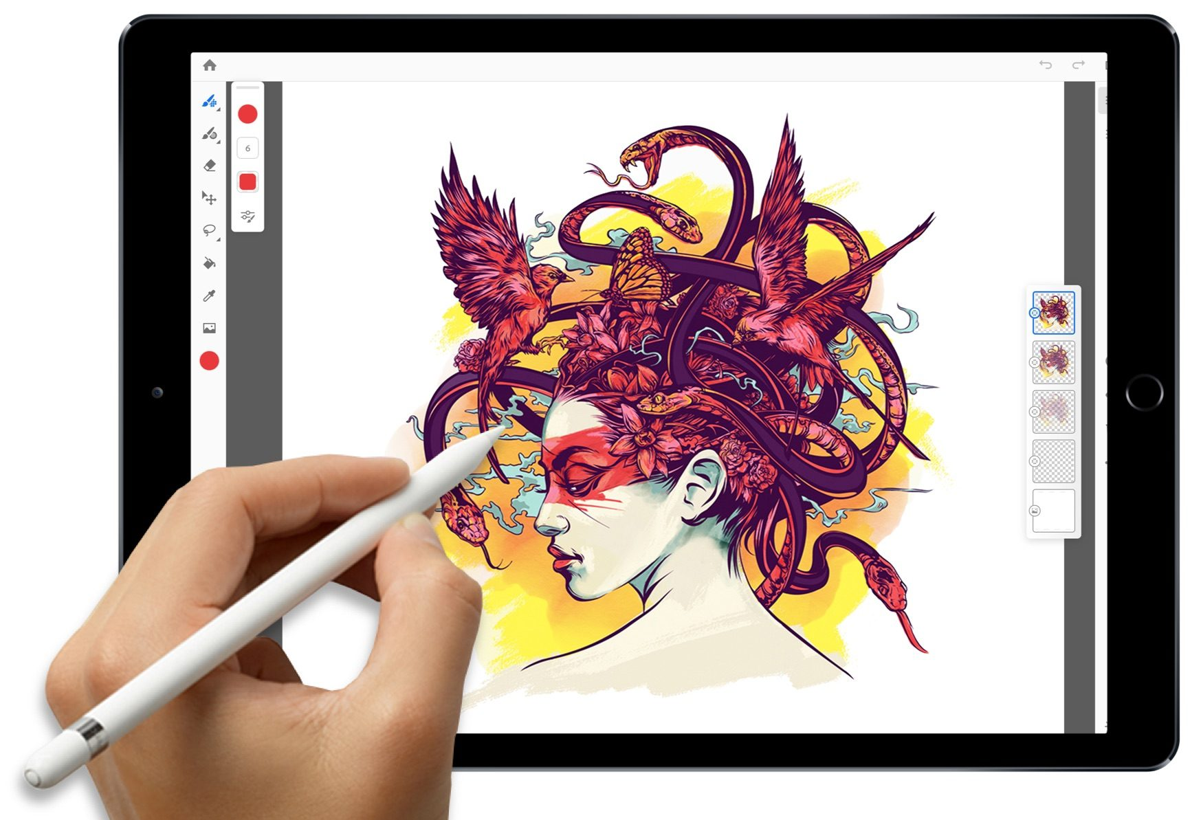 Photoshop CC pro iPad v beta testování, blíží se vydání