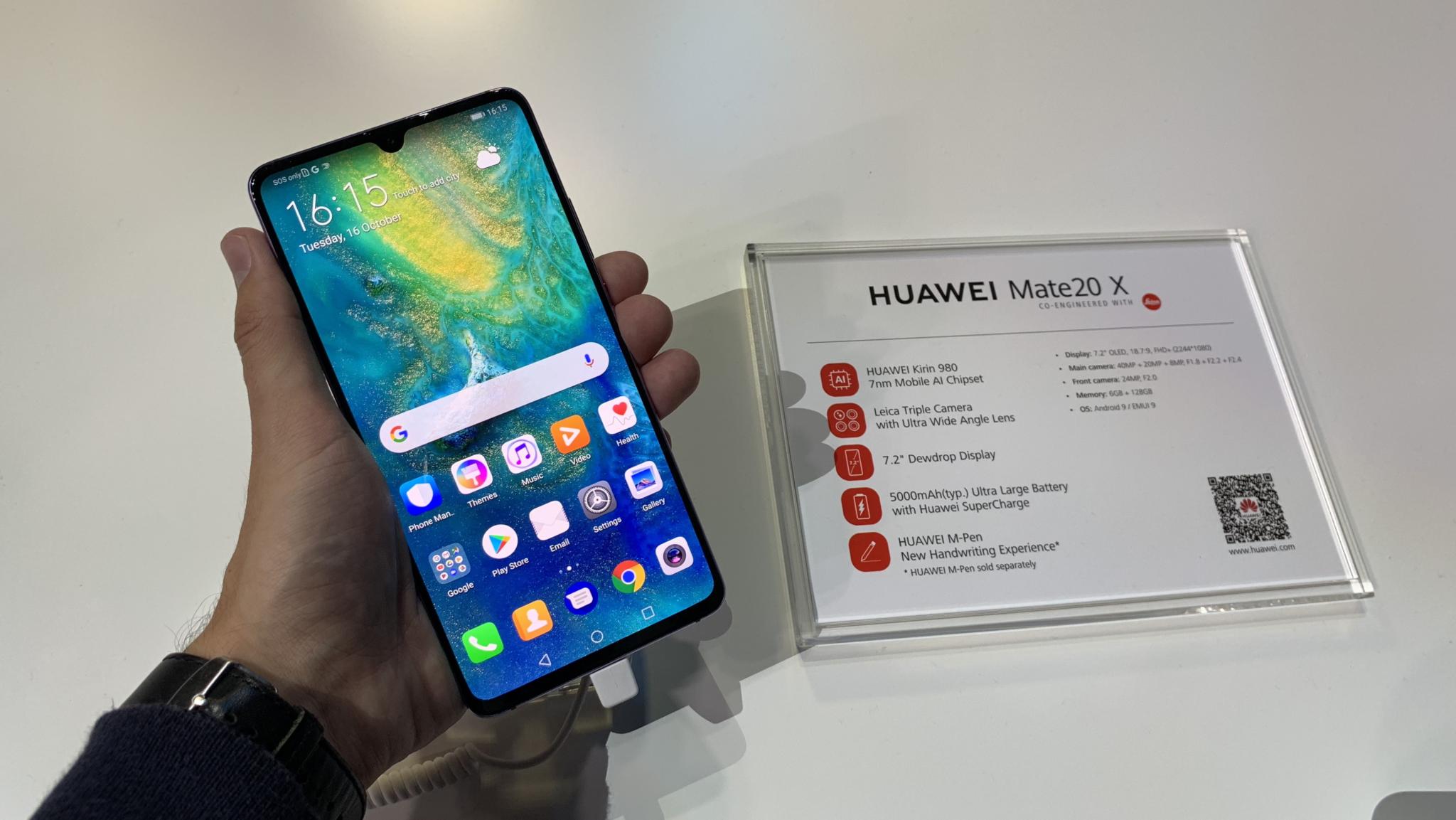 Huawei Mate 20 X s 5G konektivitou přichází do Česka, stojí 24 999 Kč