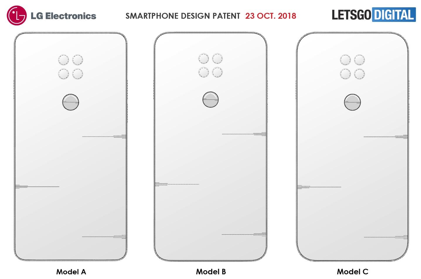 """LG G8 zřejmě nabídne """"sporákový"""" design, poukazují na to podané patenty"""