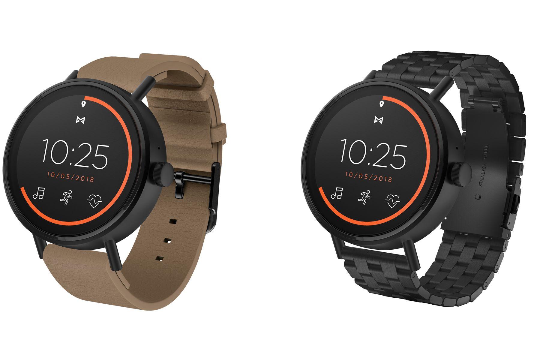 Misfit představil hodinky Vapor 2 s Wear OS – za málo peněz hodně muziky