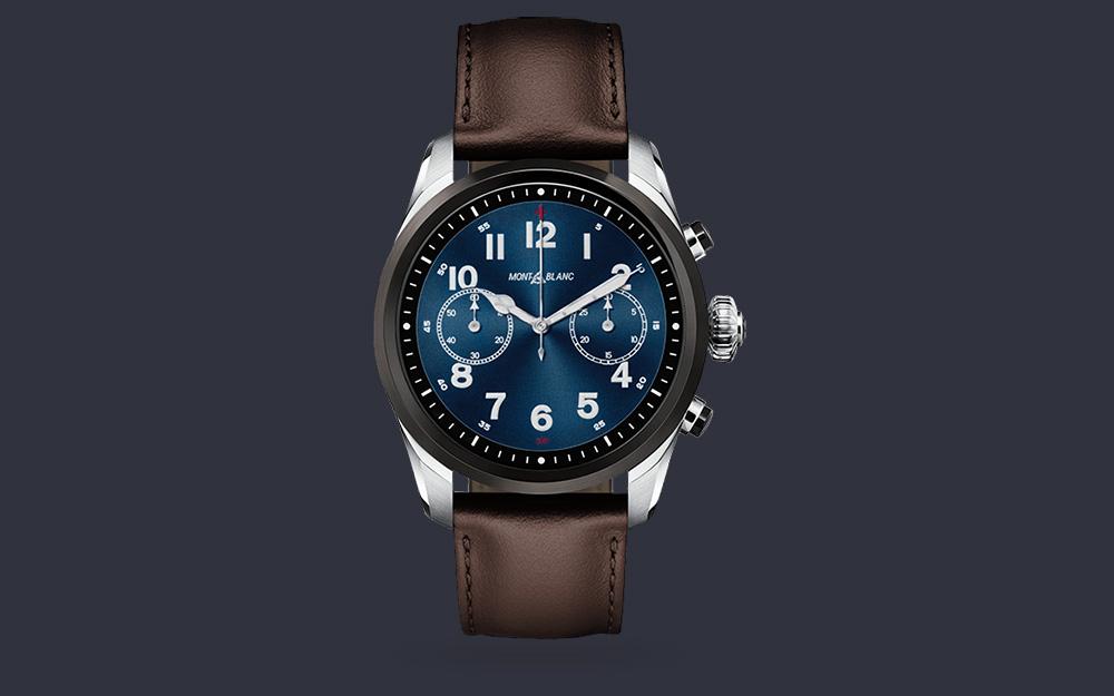 Montblanc Summit 2 jsou první Watch OS hodinky se Snapdragonem Wear 3100