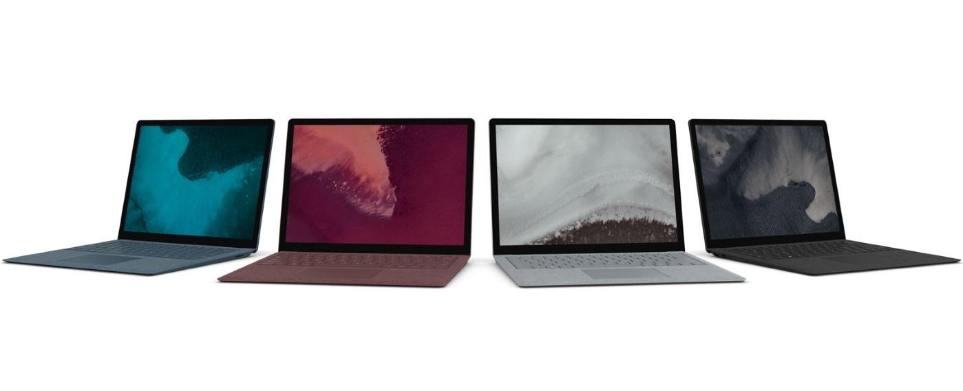Microsoft představil Surface Pro 6 a Surface Laptop 2