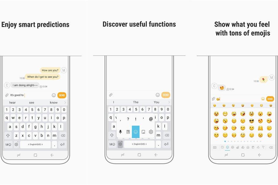 Samsung klávesnice získá velmi důležitou funkci