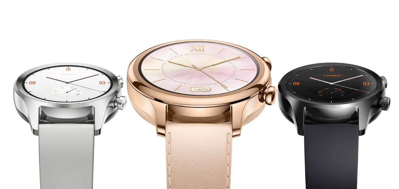 Ticwatch C2 jsou nové hodinky s Wear OS za 199,99 eur