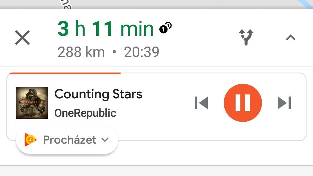 Návod: Google Mapy se Spotify, Play Music nebo Apple Music ovládáním