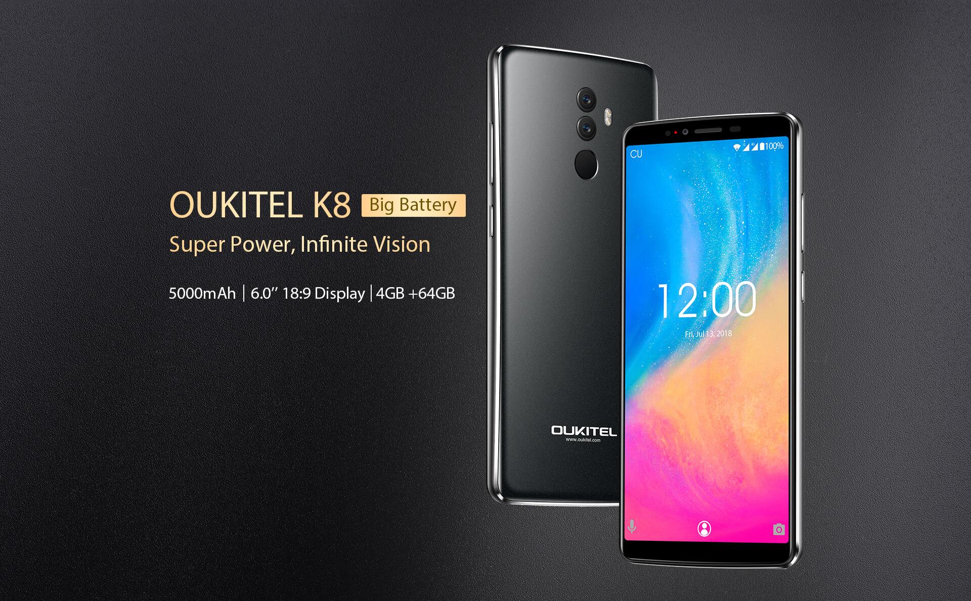 Oukitel K8 nadchne cenou i výbavou