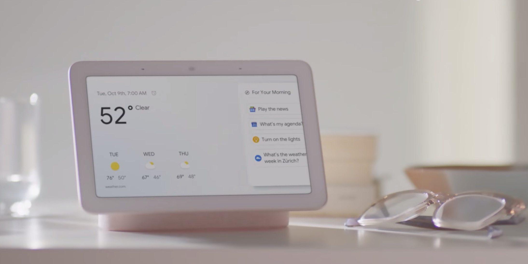 Google Home Hub – chytrý asistent s displejem do domácnosti