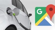 Navigace v Google Mapách v tmavém režimu