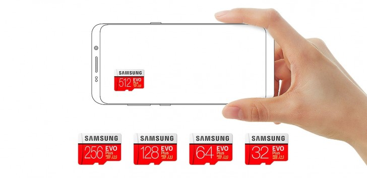 Samsung představil microSD kartu EVO Plus s kapacitou 512 GB
