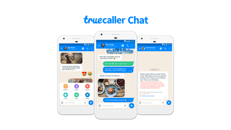 Truecaller Chat