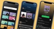 Spotify zjednodušuje prostředí své aplikace a vydává novou aktualizaci