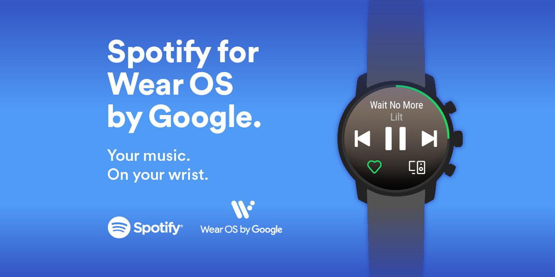 Spotify zamíří na hodinky s Wear OS
