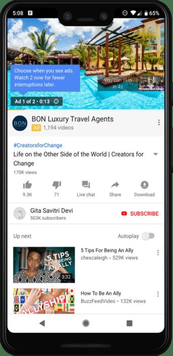 Youtube nabídne více reklam