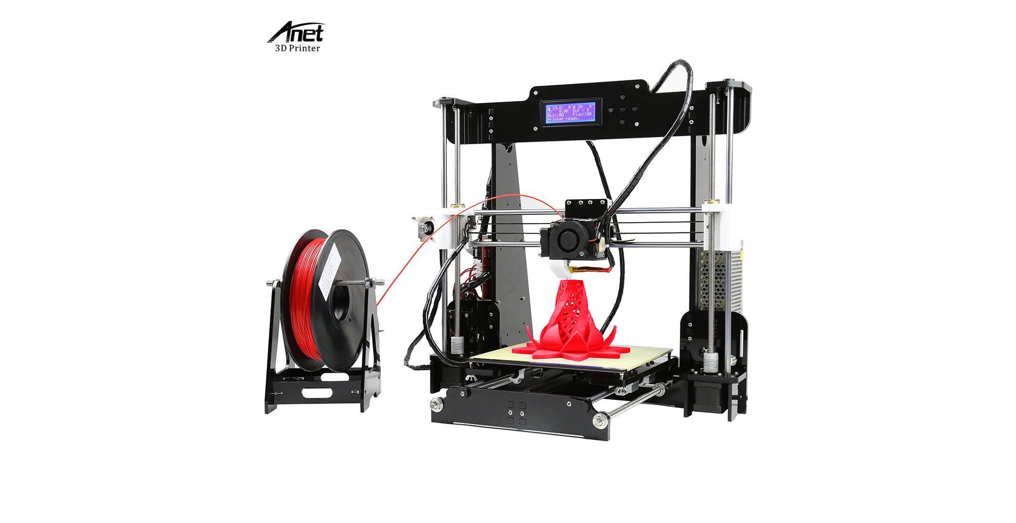 Anet A8 je skvělá 3D tiskárna jen za 2 953 Kč! [sponzorovaný článek]