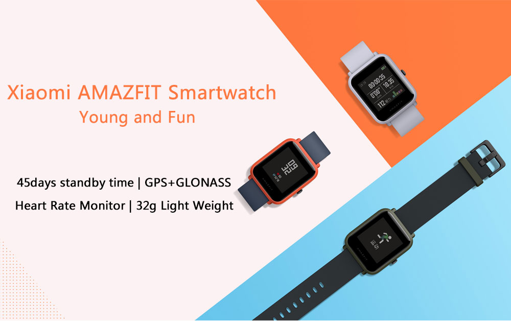 Chytré hodinky Xiaomi Huami Amazfit Bip za nižší cenu! [sponzorovaný článek]