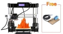 Skvělá 3D tiskárna Anet A8 za nízkou cenu! [sponzorovaný článek]