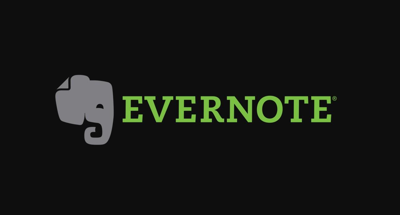 Aplikace Evernote nasazuje tmavý design