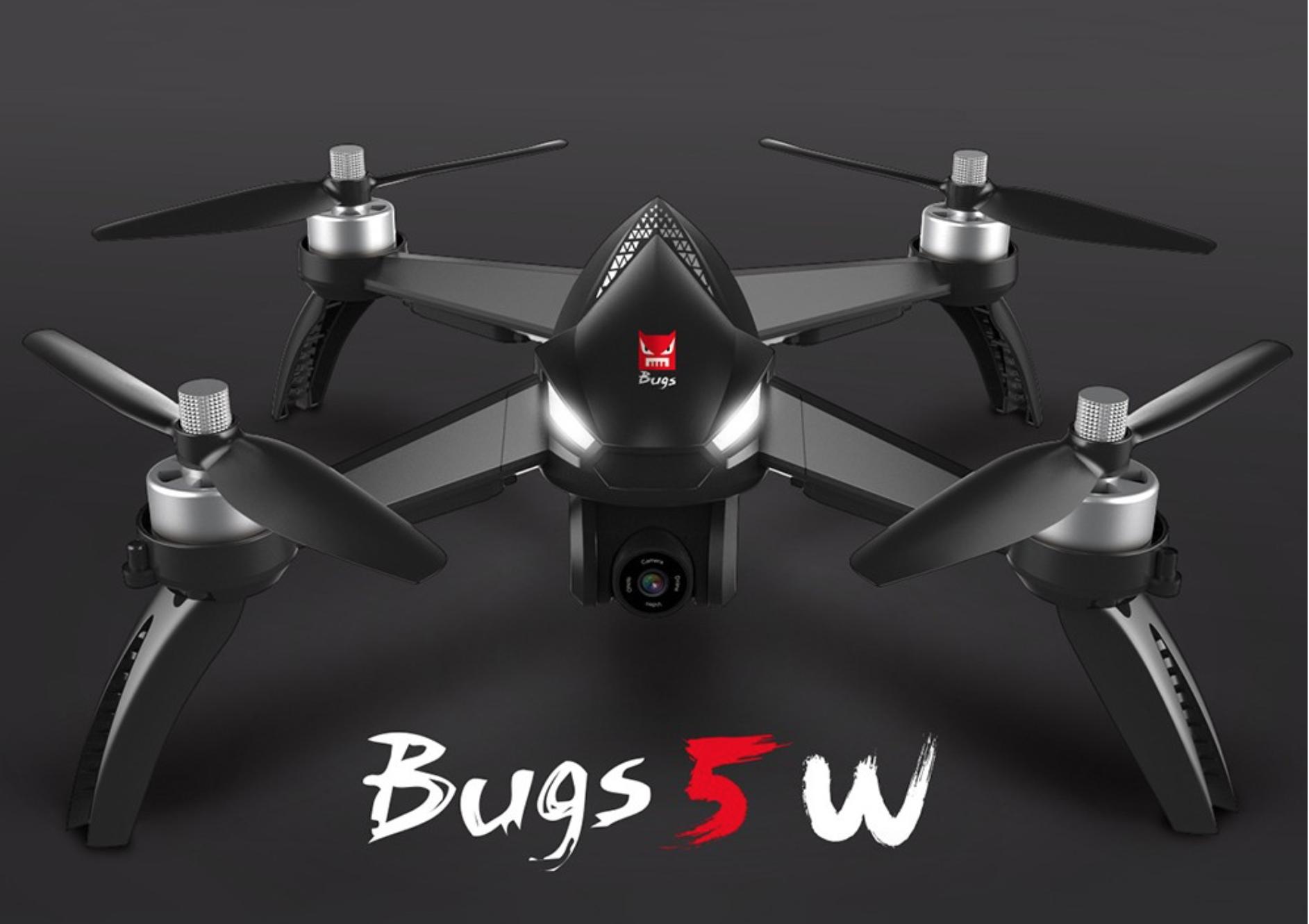 Omezený kupón na dron MJX Bugs 5, dron nejen pro profesionály! [sponzorovaný článek]