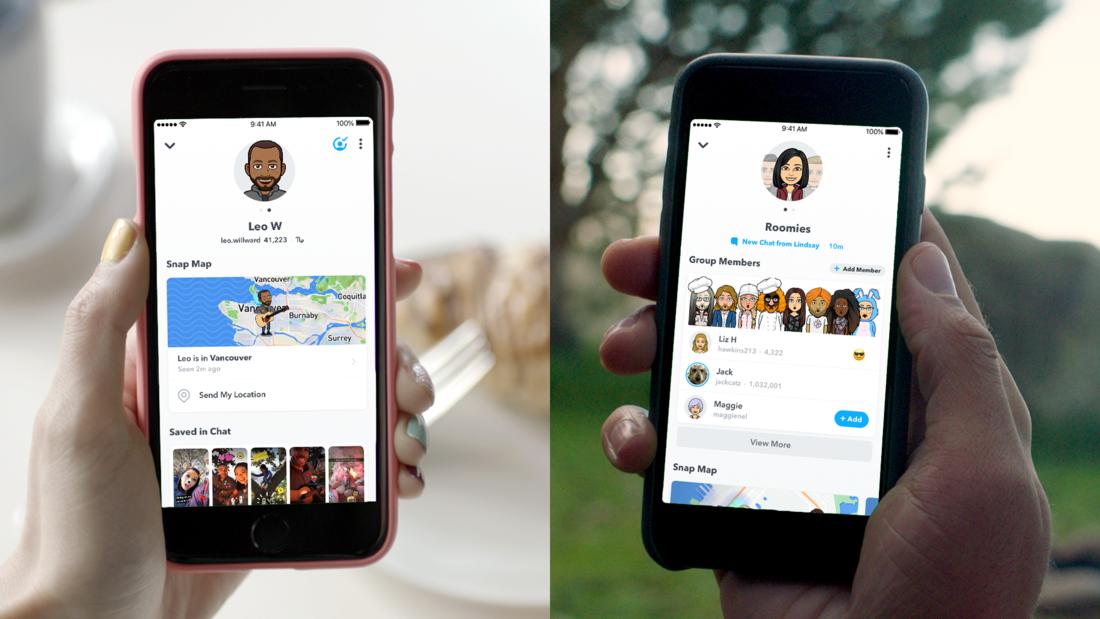 Snapchat vrací úder a přichází s novými profily a komiksy