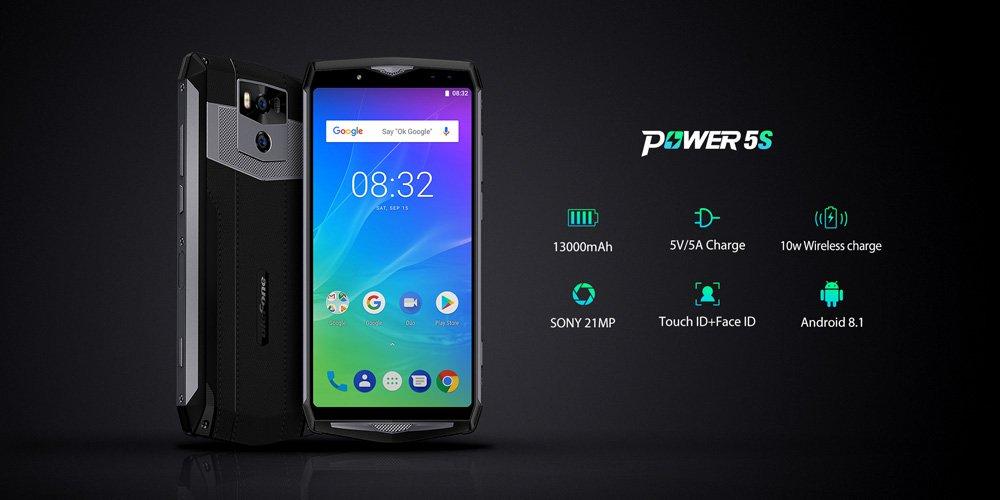 Ulefone má odolnou novinku Power 5S