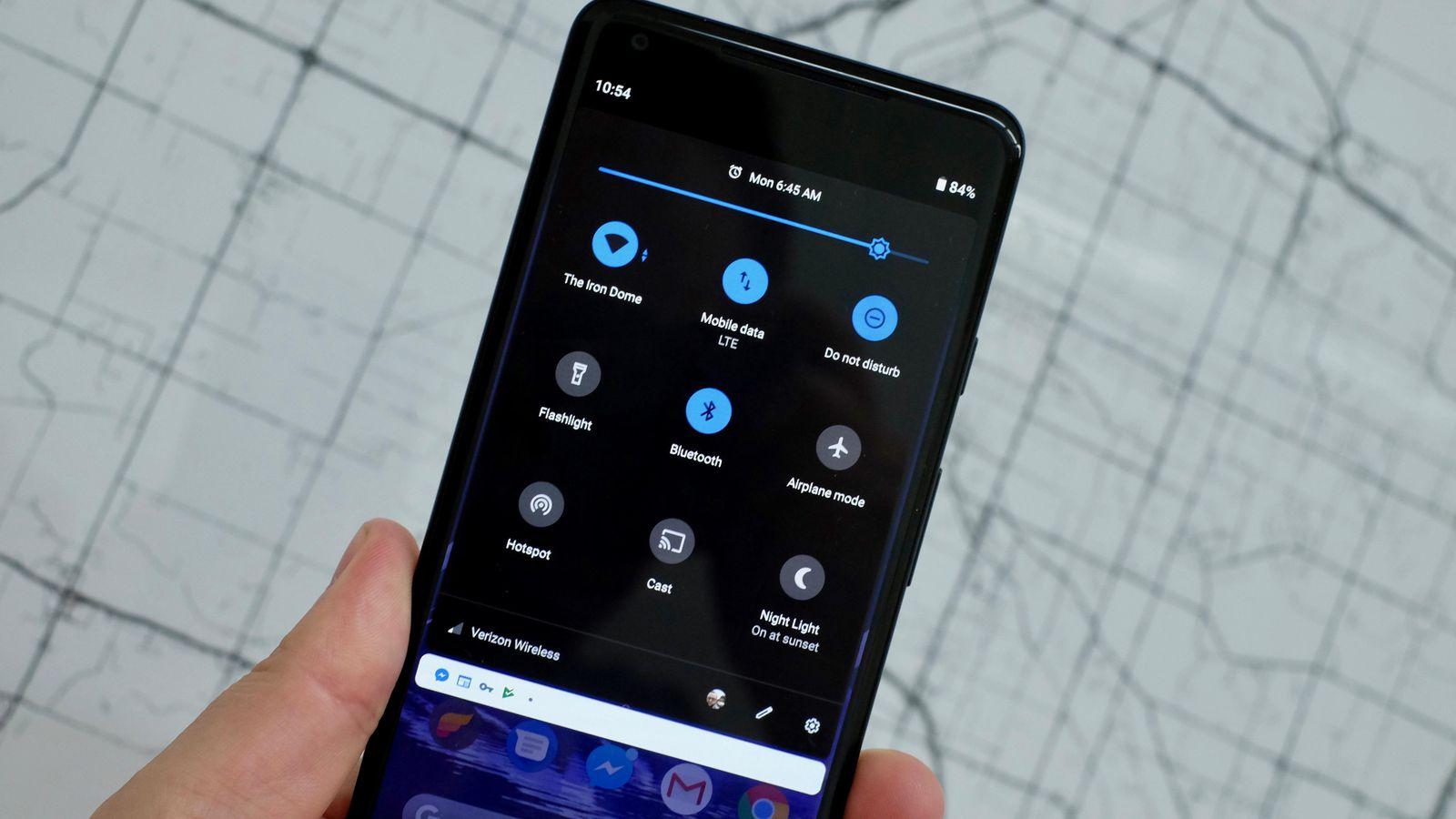 Google radí vývojářům, aby používali tmavý režim