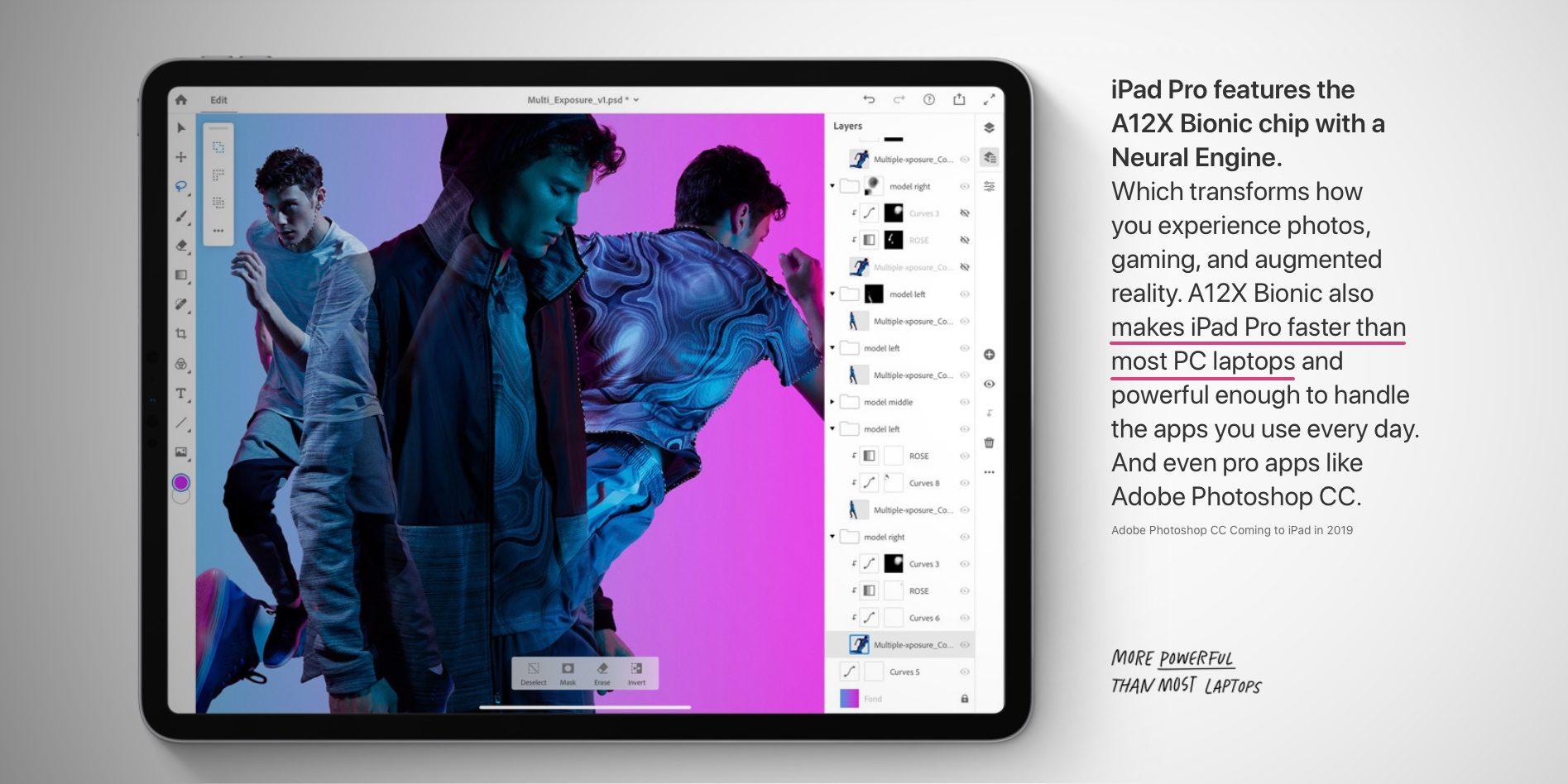 iPad Pro může konkurovat v oblasti výkonu běžným PC/NB