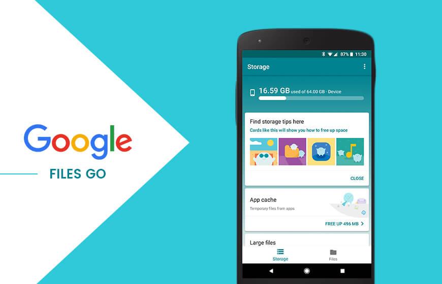 Google Files se mění, nový název a nový design