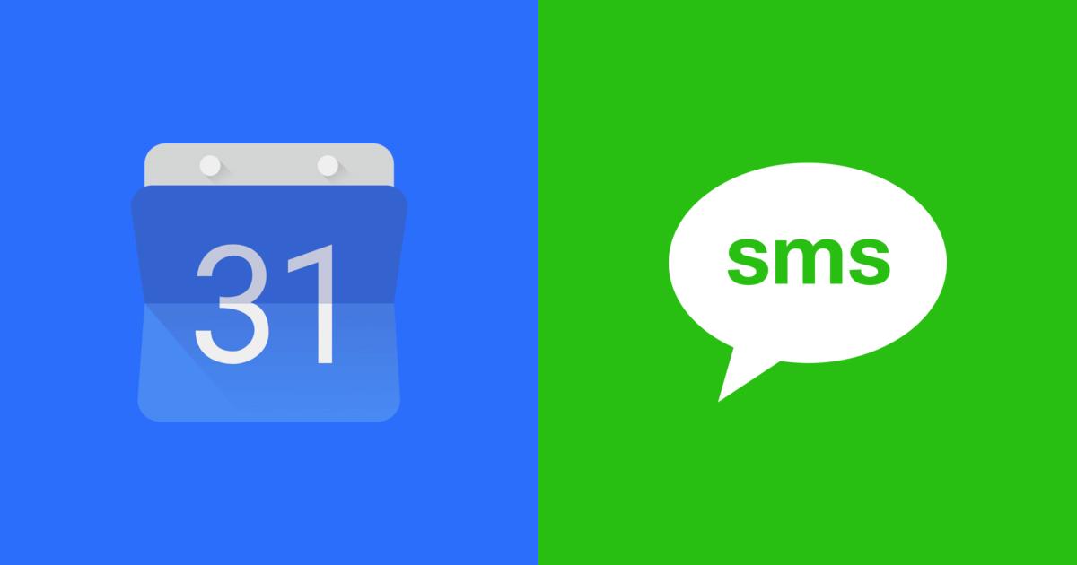 Google Kalendář přijde o SMS notifikace