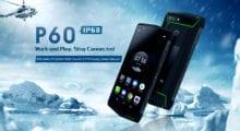 Poptel P60 je nejvybavenější odolný telefon na trhu