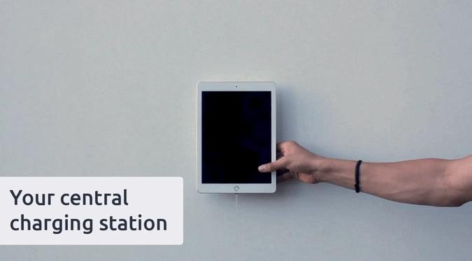 Vzniká bezdrátová nabíječka na zeď pro tablety