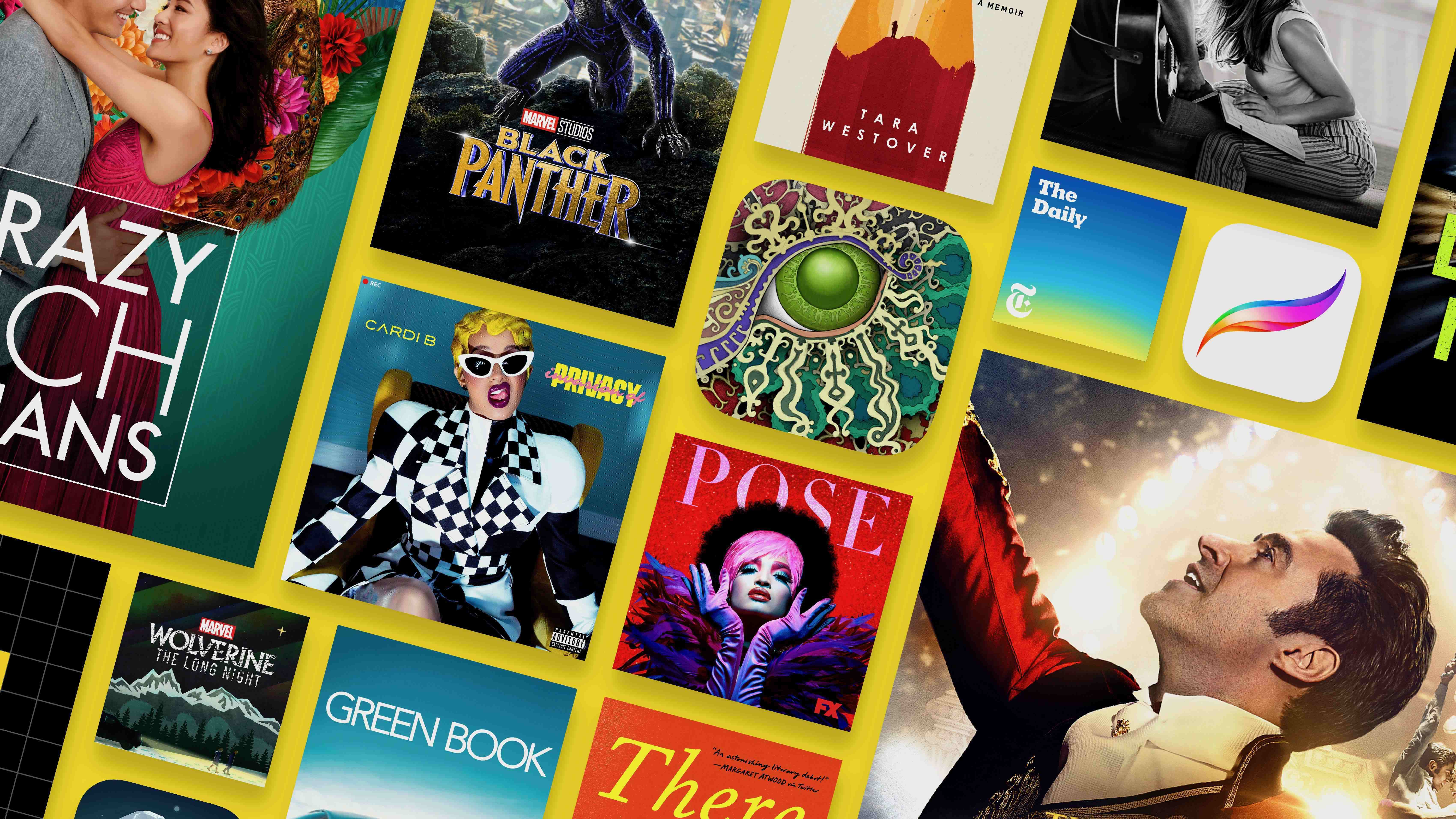 Apple oznámil nejpopulárnější aplikace a hry za rok 2018