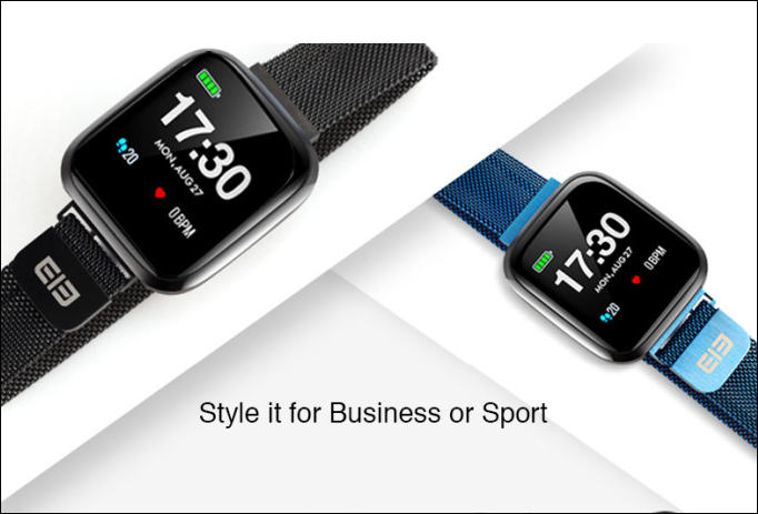 Elephone uvedl nové hodinky Watch 3