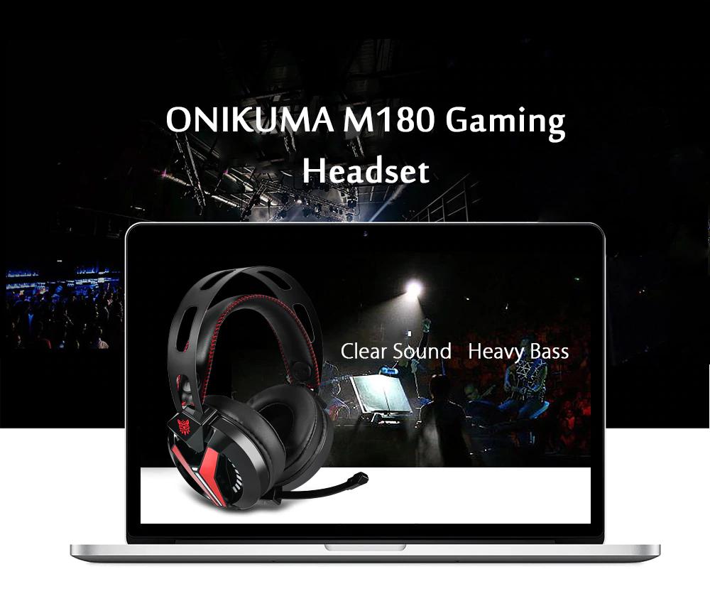 Onikuma M180 – herní sluchátka s dobrým poměrem cena/výkon [uživatelská zkušenost]
