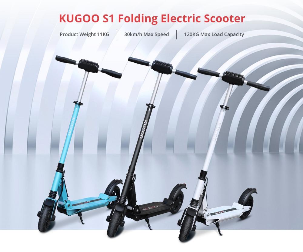 Rychlá elektrická koloběžka Kugo S1 jen nyní za 5 000 Kč! [sponzorovaný článek]