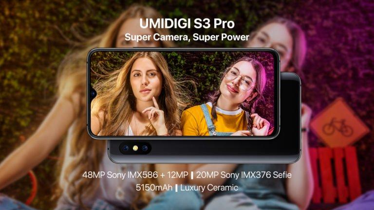 Umidigi zanedlouho představí model S3 Pro