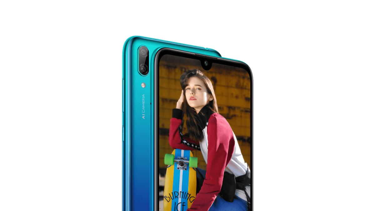 Huawei Y7 2019 bude větší a nabídne výřez