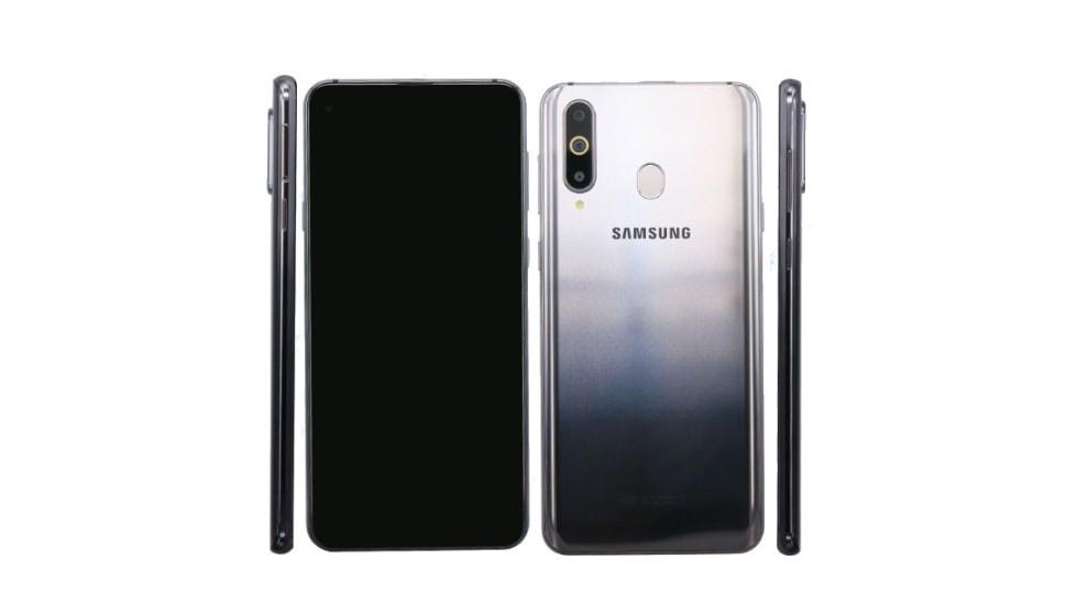 """Samsung Galaxy A8s s """"dírou"""" na fotkách před oficiálním představením [aktualizováno]"""