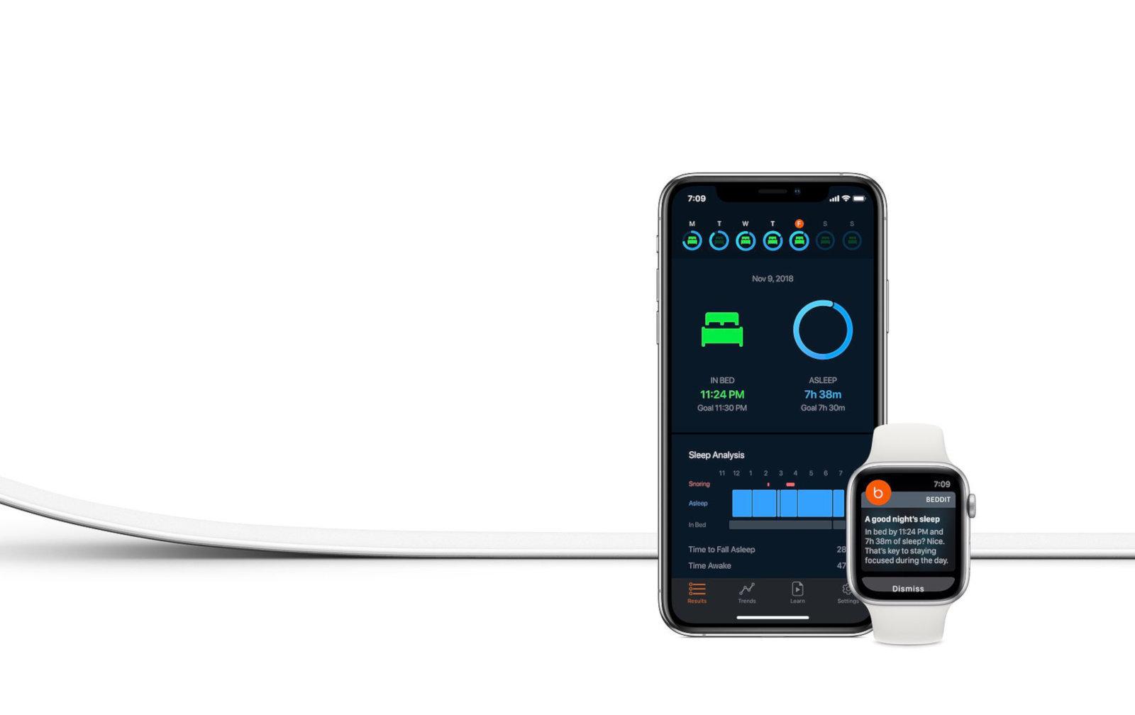 Apple vydal první Beddit produkt pro monitorování spánku